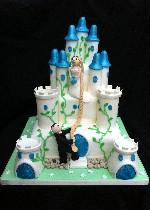 Rapunzel Wedding Cake SD049