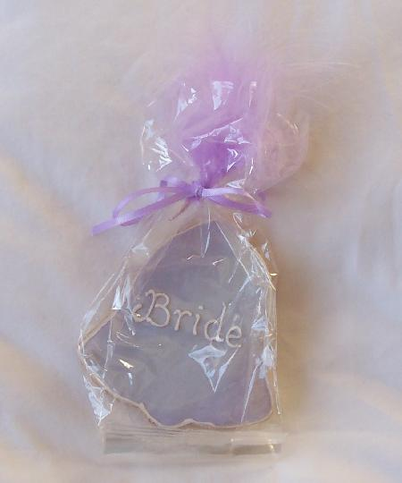 Wedding Bell Shaped Cookie Favour